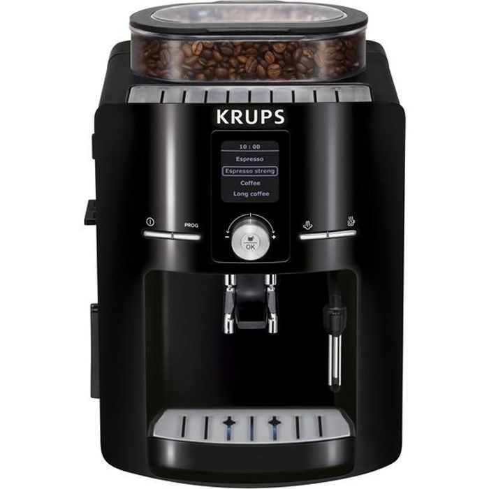 Krups ea8250 achat vente machine expresso cdiscount - Machine a cafe a grain krups ...