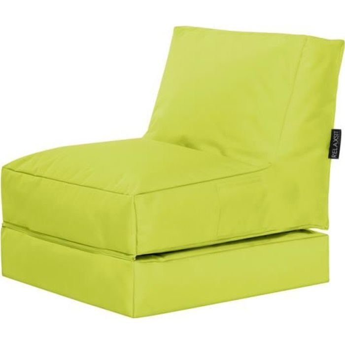 Fauteuil multifonction twist vert anis by sittingp achat vente chauffeuse - Fauteuil crapaud vert anis ...