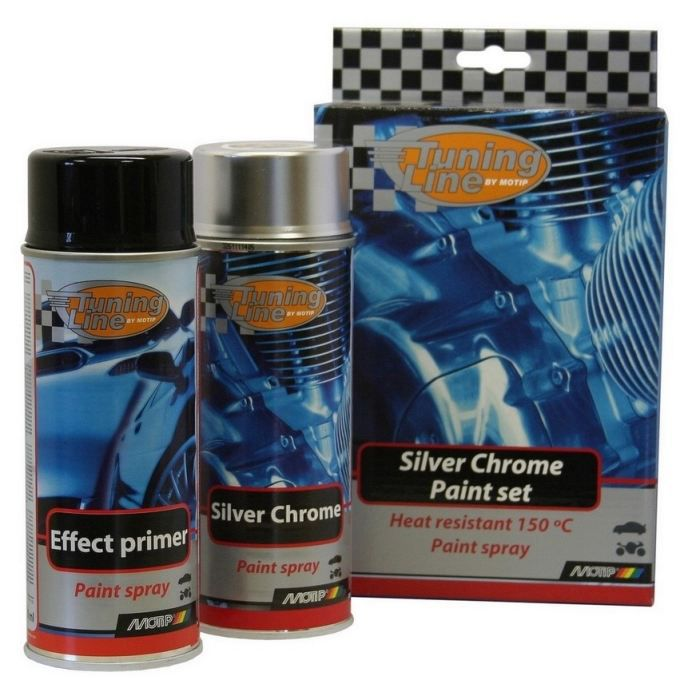 kit silver chrome achat vente peinture auto kit silver chrome cdiscount. Black Bedroom Furniture Sets. Home Design Ideas