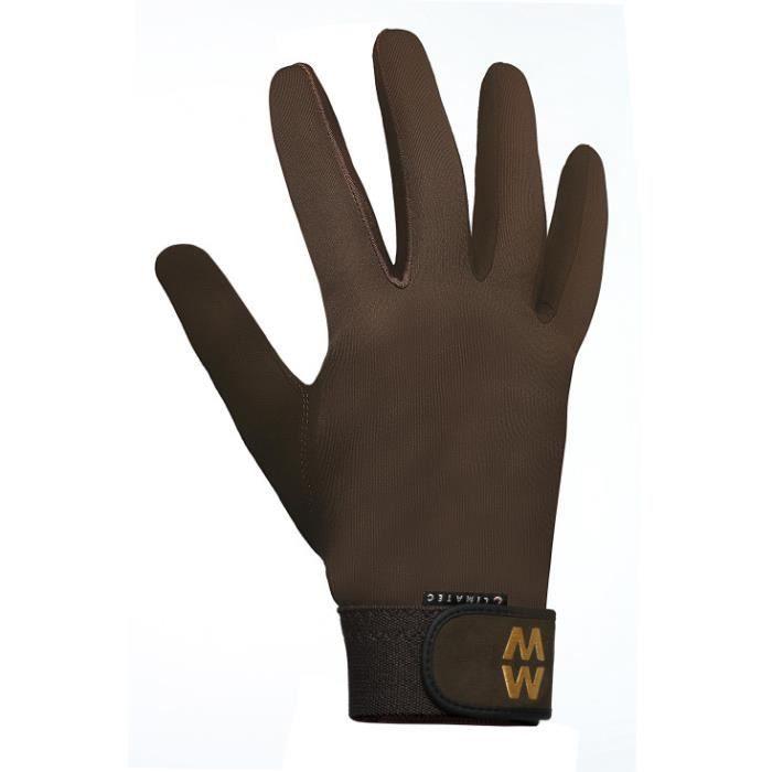 Club interchasse cuir tir gants chasse marron tir