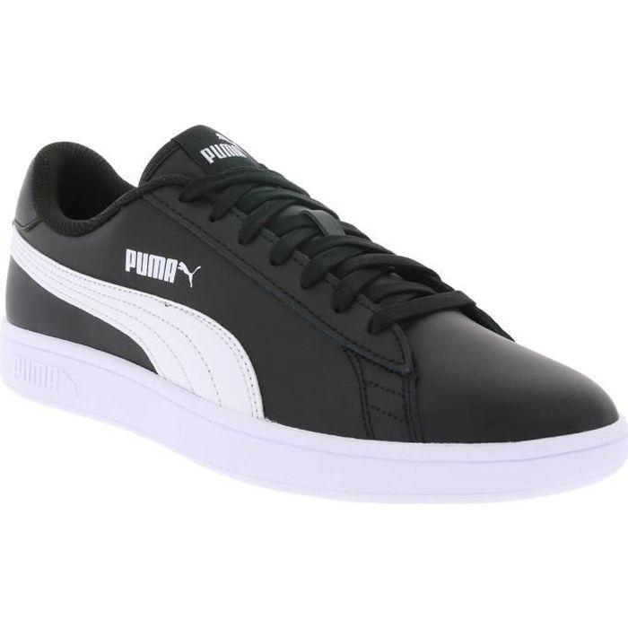 sneakers homme noir cuir puma