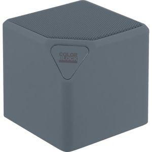 ENCEINTE NOMADE Enceinte Bluetooth grise Lowlow Colorblock
