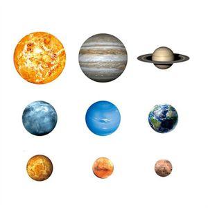 Stickers muraux déco systeme solaire 1270