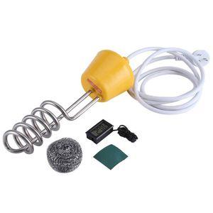 Ils Chauffe-Eau 2500W 220V Chauffe-Eau /électrique Portable /à/ /Él/ément Immersion pour Baignoire Piscine