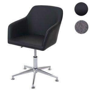 CHAISE Chaise de salle à manger HWC-A74, fauteuil pivotan