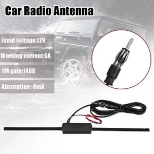 ANTENNE AUTO-MOTO WANG  TEMPSA Universel Voiture Antenne Radio Ampli