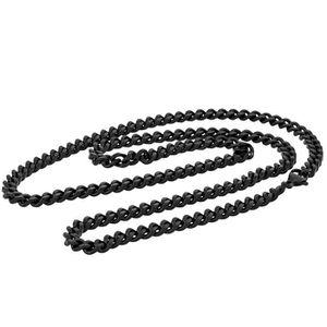 SAUTOIR ET COLLIER Akitsune Fibra Chaîne 70 cm de Long 5-6mm Large -