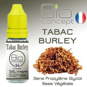 LIQUIDE E liquide BIO CONCEPT TABAC BURLEY 6MG 10ml - Eliq