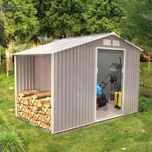 ABRI BÛCHES Ventoux 6.53 m² : abri de jardin avec abri bûches