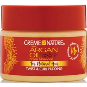 MASQUE SOIN CAPILLAIRE CREME OF NATURE with Argan Pudding Perfection 340M