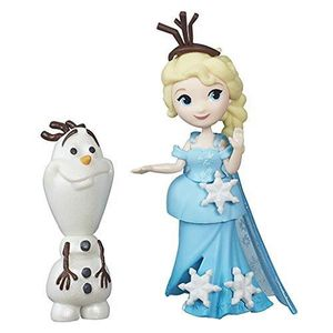 FIGURINE - PERSONNAGE Disney La Reine des Neiges Little Kingdom Elsa & O