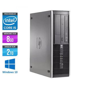 ORDI BUREAU RECONDITIONNÉ PC HP 8100 - Core i5 - 3,2GHz -8Go -2To -Windows 1