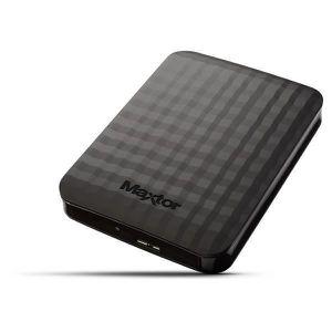 DISQUE DUR EXTERNE Maxtor Disque Dur externe M3 1 To USB3.0 + 1 Houss