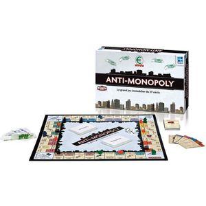 JEU SOCIÉTÉ - PLATEAU MEGABLEU Jeu de plateau Anti-monopoly