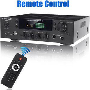 AMPLIFICATEUR HIFI NEüFU Amplificateur Audio 400W Puissance Stéréo Hi