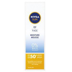 GEL - CRÈME DOUCHE Nivea Sun UV Face à l'humidité Mousse SPF 50+ 75ml