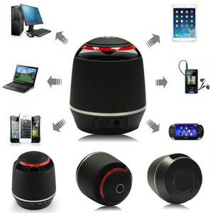 ENCEINTES ORDINATEUR Mini Portable subwoofer sans fil Bluetooth Speaker