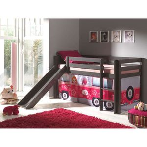 lit enfant bus achat vente lit enfant bus pas cher. Black Bedroom Furniture Sets. Home Design Ideas