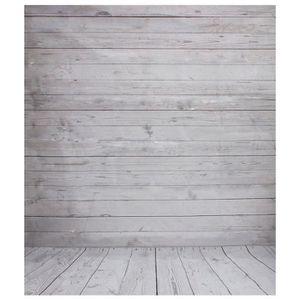 FOND DE STUDIO 2x1.5m Plancher de mur en bois gris Vintage fond d