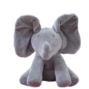 POUPÉE Elephant jouet en peluche électronique Flappy Elep