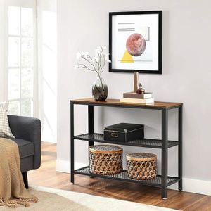 CONSOLE VASAGLE Table de console, Table d'appoint, Style i