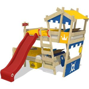 LITS SUPERPOSÉS WICKEY Lits superposés pour enfant  en bois CrAzY