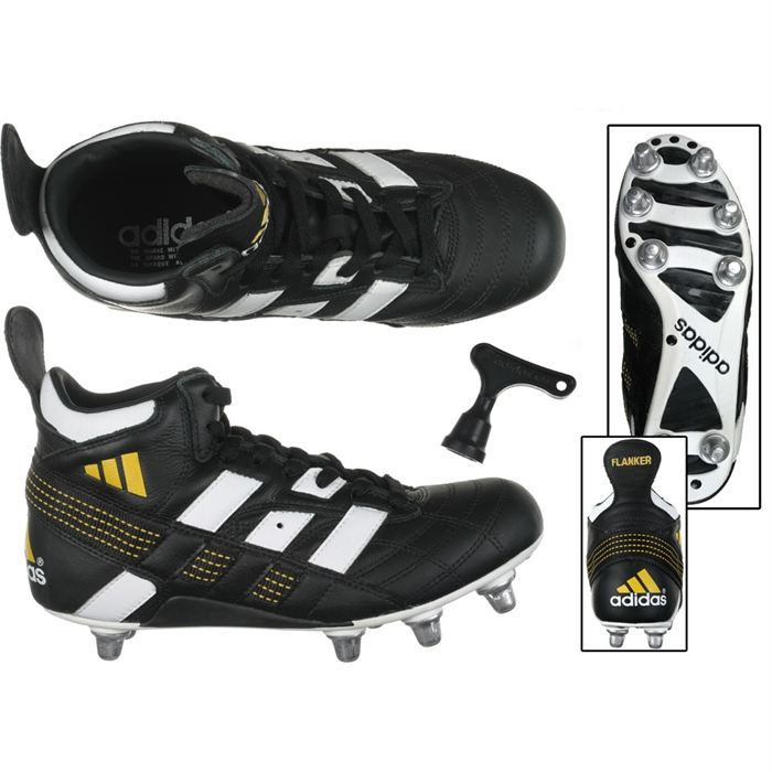 huge selection of 73c44 07939 CHAUSSURES DE RUGBY ADIDAS Flanker