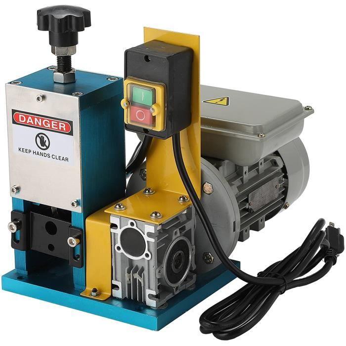 Machine à Dénuder Fils, 180W Dénudeur Câbles Électrique, Pince à Dénuder Fil de Câble de Diamètre de 1,5 à 25mm Machine de Dépouille