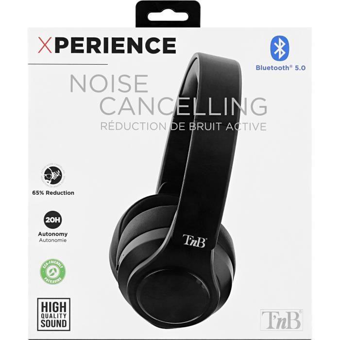NOISE CANCELLING XPERIENCE - Casque Bluetooth à réduction de bruits active - noir