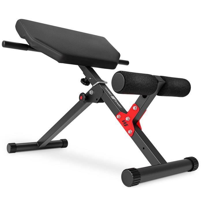 Marbo Sport back trainer abdominal trainer extension du dos hyperextension MH-L116 2.0