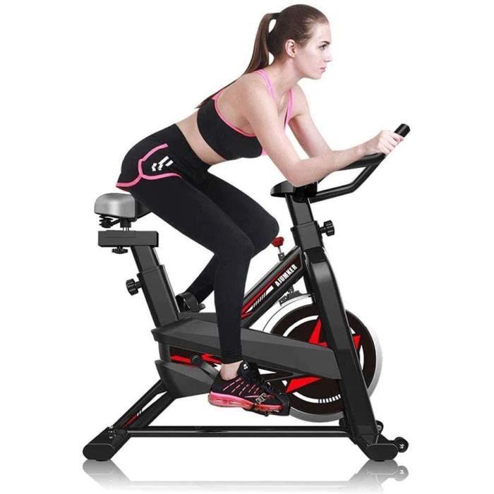 Olz Vélos d'appartement pour la Maison, vélos de vélo d'intérieur Professionnels, équipement de Sport Stationnaire avec Fonction de