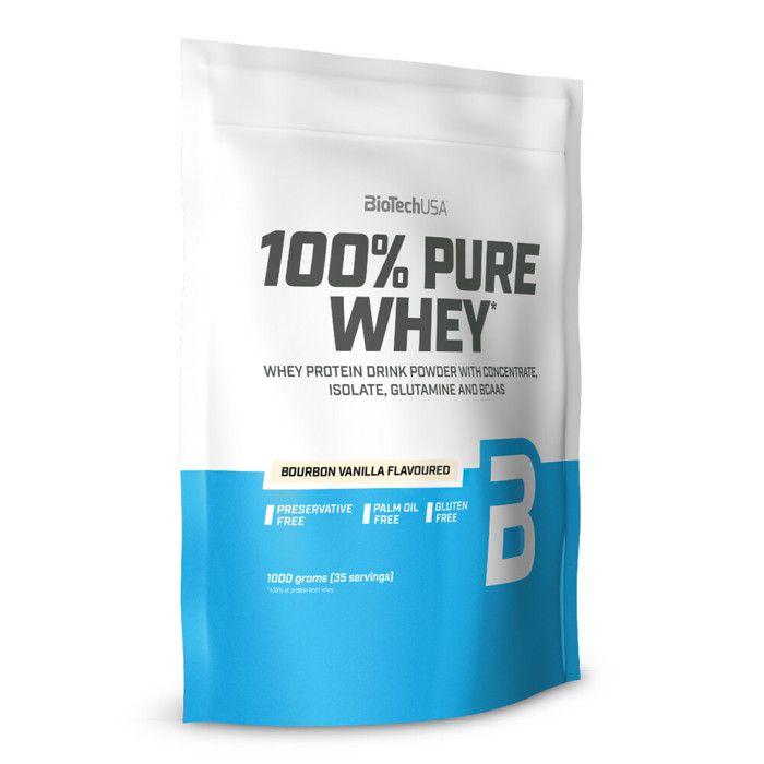 Pure Whey (1Kg) Biotech USA Vanille