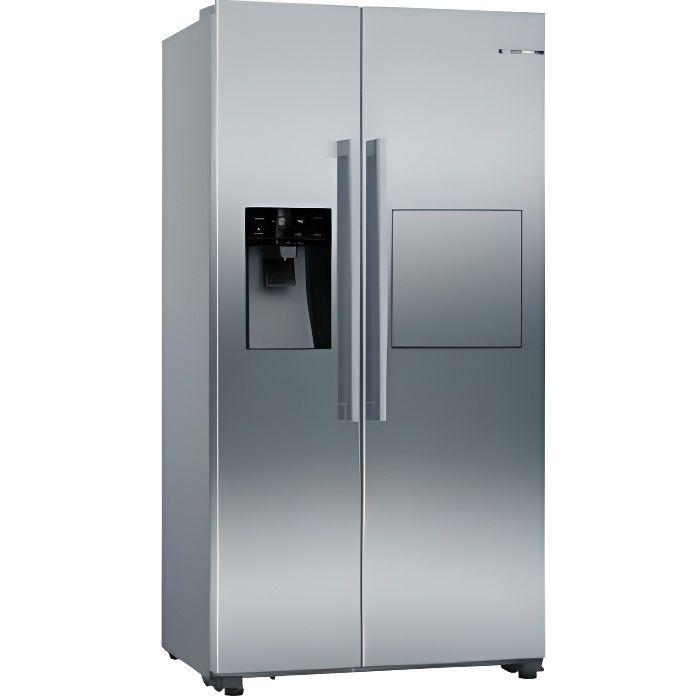 Refrigerateur Us178.7x90.8x70.7 A++ Inox Bosch - Kag93aiep