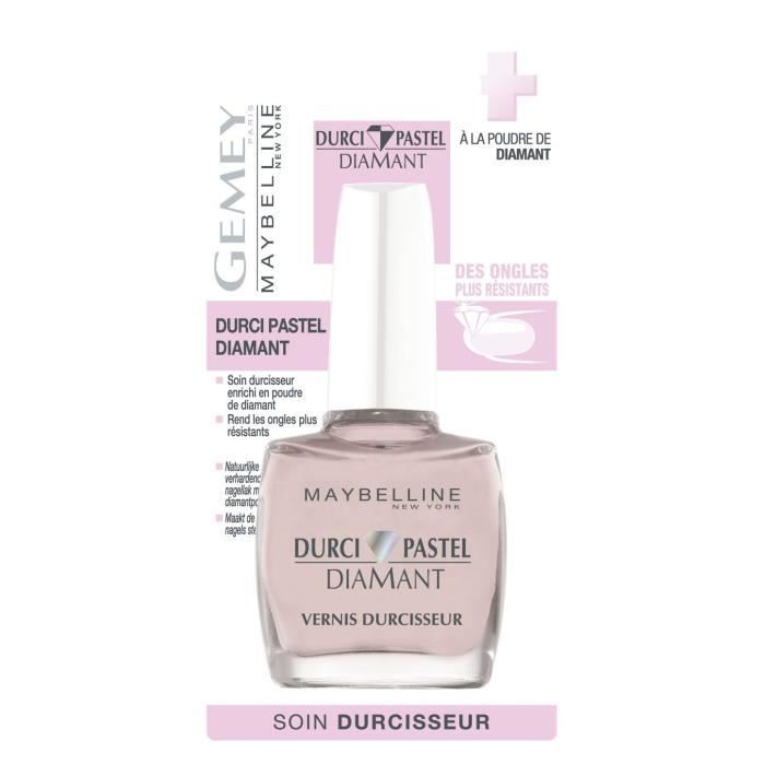 Gemey Maybelline New York Durci Pastel Diamant Vernis Durcisseur 10 mlVERNIS A ONGLES