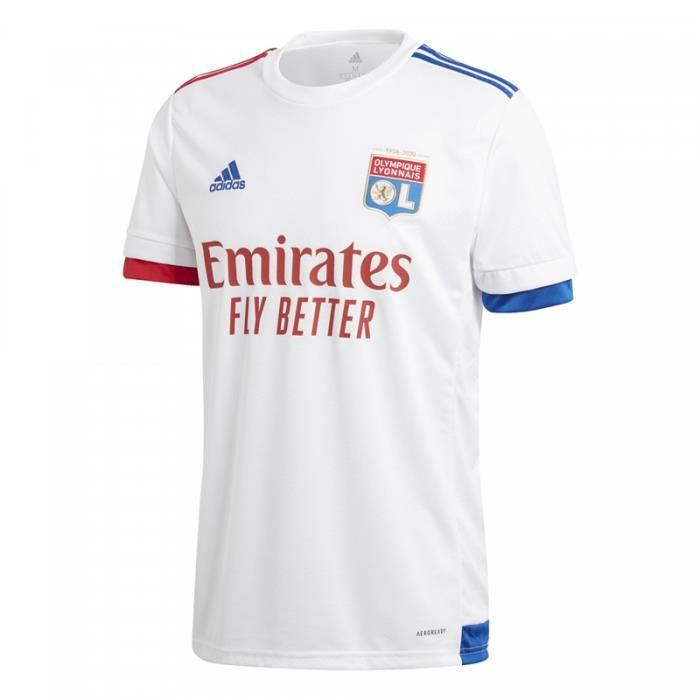 Maillot Olympique Lyonnais - 2020-2021 Maillot de Football Home Jersey - Blanc