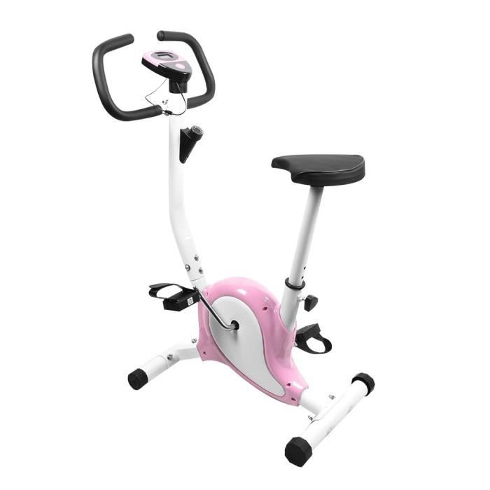 FIT BIKE - Vélo spinning fitness indoor, rose, simple