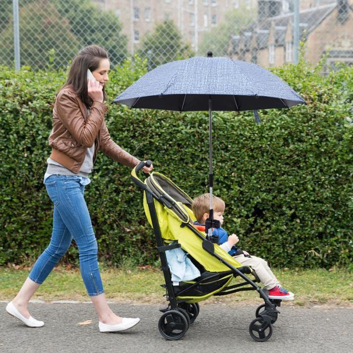 1pc pliant portable UV parasol Bursa Parapluie pour bébé poussette bracelet de montre vendu seul montres