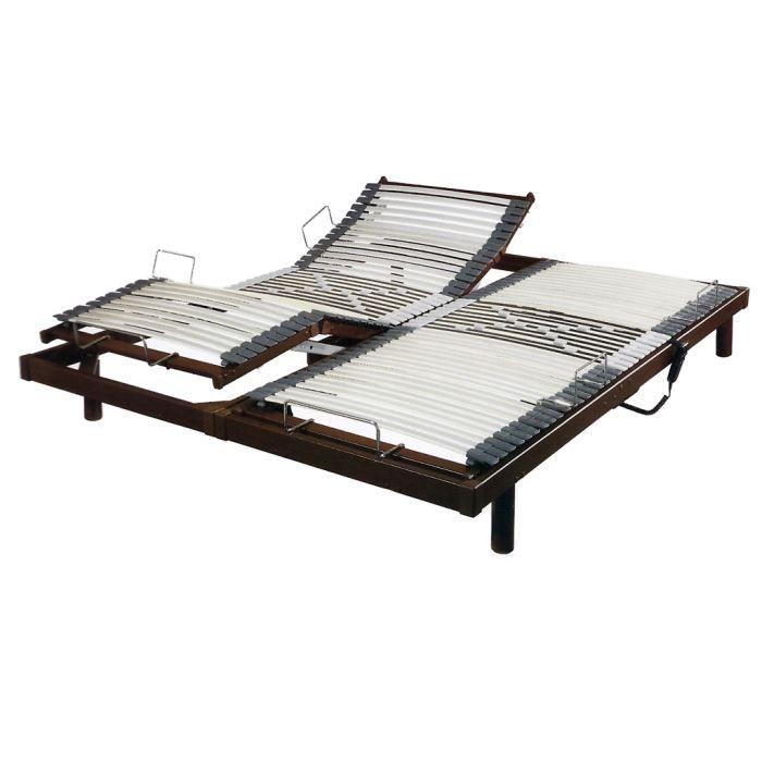 Sommier relaxation électrique S50 2 x 90 x 200 :