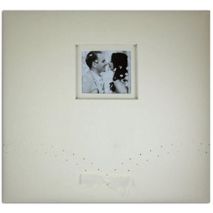 TOGA Album 30x30 mariage - ivoire