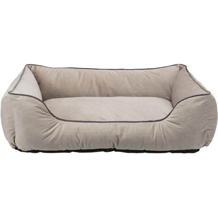 TRIXIE Lit Lupo - 100 × 70 cm - Beige - Pour chien