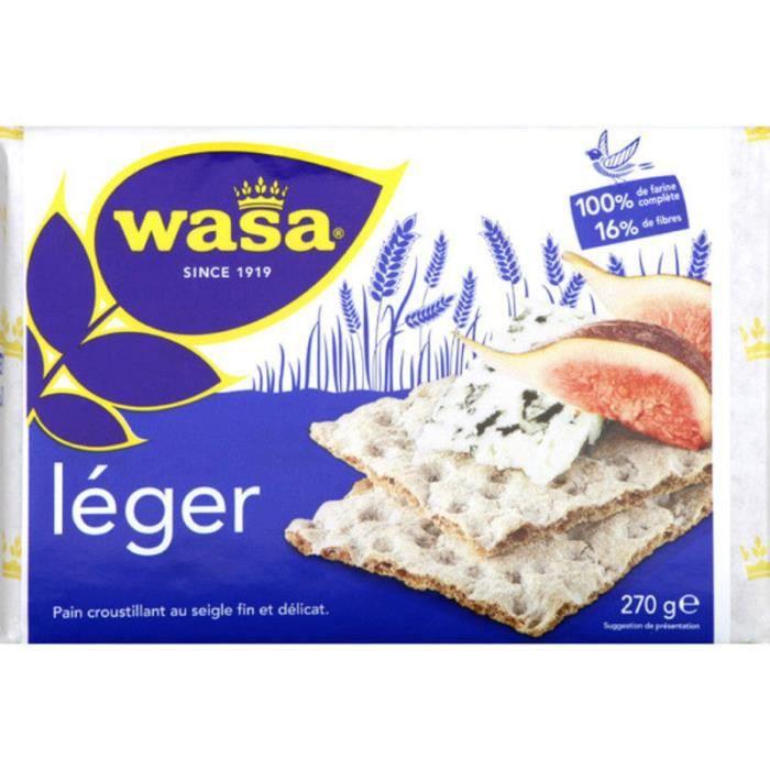 Biscottes légères - Wasa - 280 g