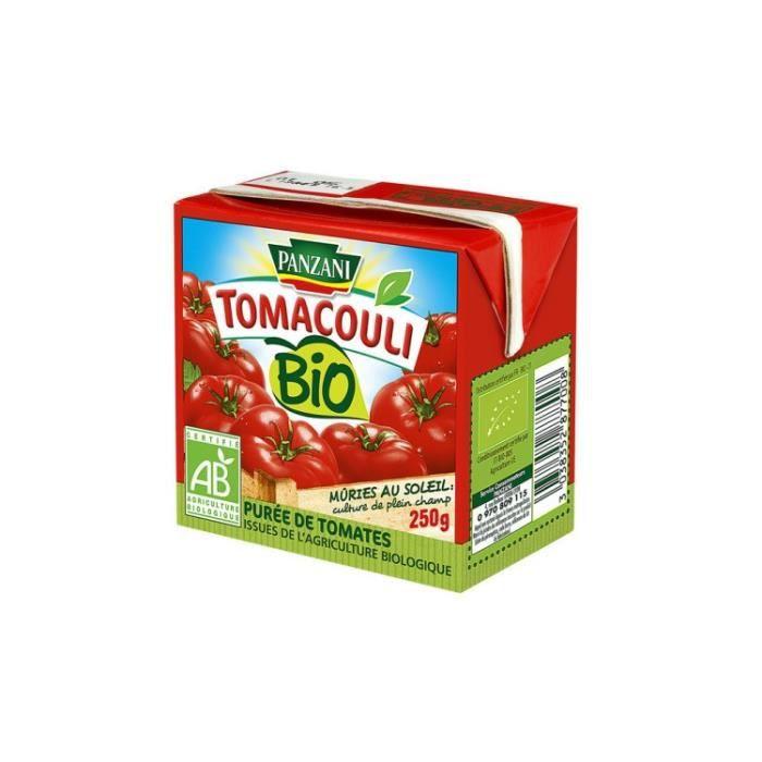 Purée de tomates bio 250g Panzani