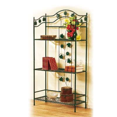 etagere fer forge achat vente etag re murale etagere fer forge cdiscount. Black Bedroom Furniture Sets. Home Design Ideas