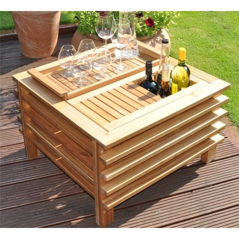 Table bar de jardin fiesta achat vente desserte de for Achat table bar