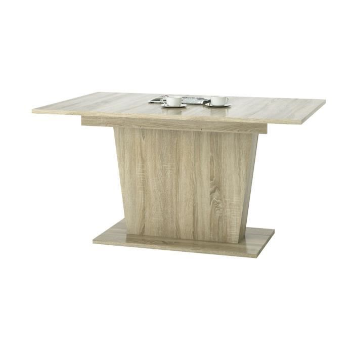 Table manger extensible pour 6 8 personnes style for Table 6 personnes dimensions