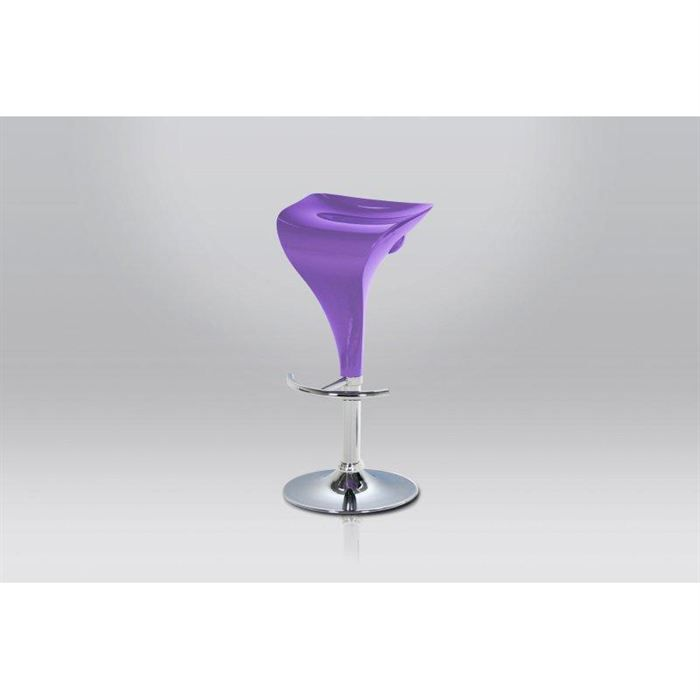 tabouret de bar design cup violet achat vente tabouret. Black Bedroom Furniture Sets. Home Design Ideas
