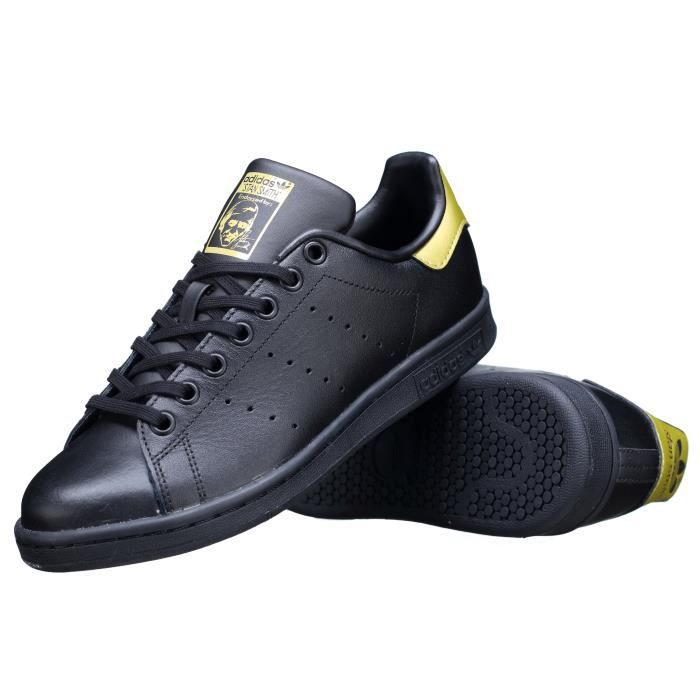 Basket Adidas Stan Smith J Bb0208 Noir-Or ADIDAS - Achat ...