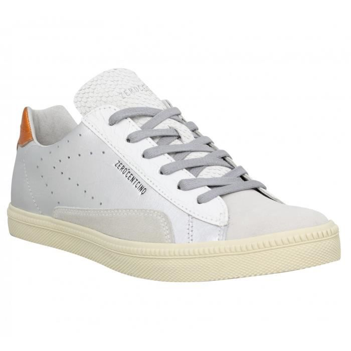 Argent 105 Orange Stan Chris Cuir Baskets Gris 0 38 Femme 8xwqvp0v5