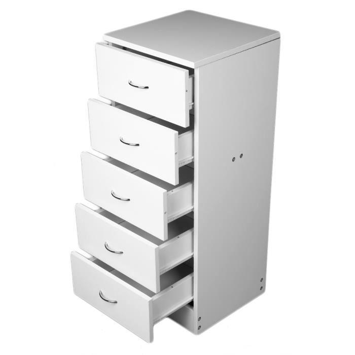 Armoire De Rangement Cabinet Meuble De Rangement 5 Tiroirs Achat Vente Petit Meuble Rangement Armoire De Rangement Cabinet Cdiscount