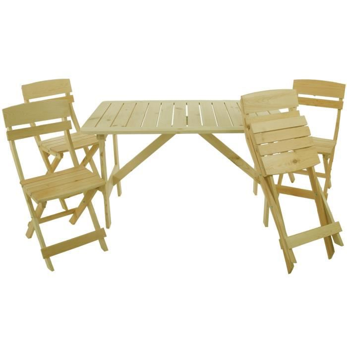 Ensemble table manger de jardin olbia gastro achat for Ensemble table a manger